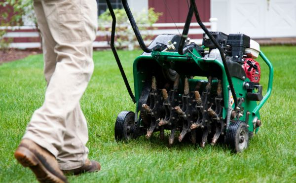Combat Compact Soil with Aeration – Brooklawn Services
